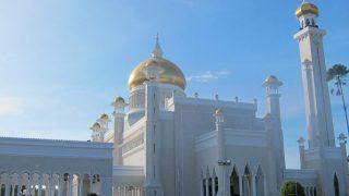 総工費500万ドル?!ブルネイ観光で絶対外せないオールドモスク!