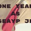 内閣府主催「東南アジア青年の船」日本参加青年としての一年を語る。