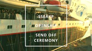 【東南アジア青年の船】ついににっぽん丸へ―オープンシップ&出航式